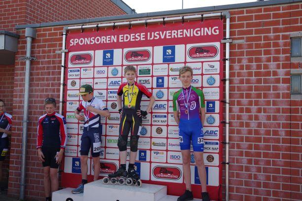 Dave van Dam Inline Cup in Ede Schaats en
